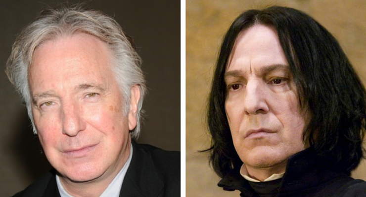 Addio ad Alan Rickman, il professor Piton di Harry Potter
