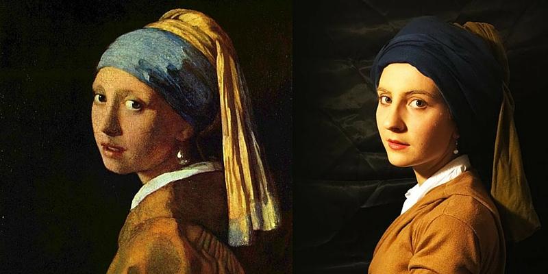 """""""Se fossi un quadro"""", quando l'arte prende vita"""