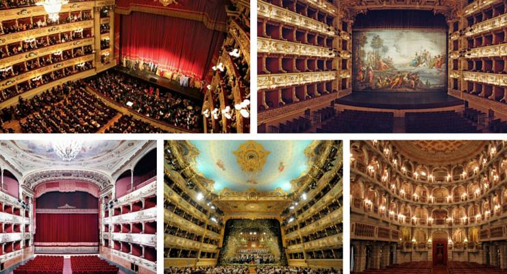 I 10 teatri più famosi in Italia