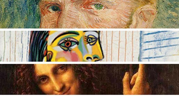 I 10 pittori più famosi di tutti i tempi