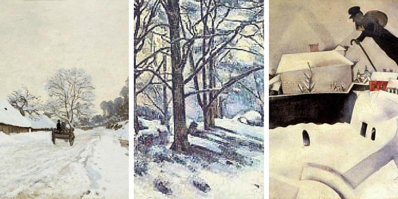 I 5 quadri più famosi sulla neve.