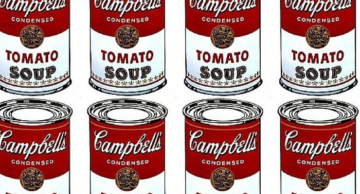Le 5 opere più amate di Andy Warhol