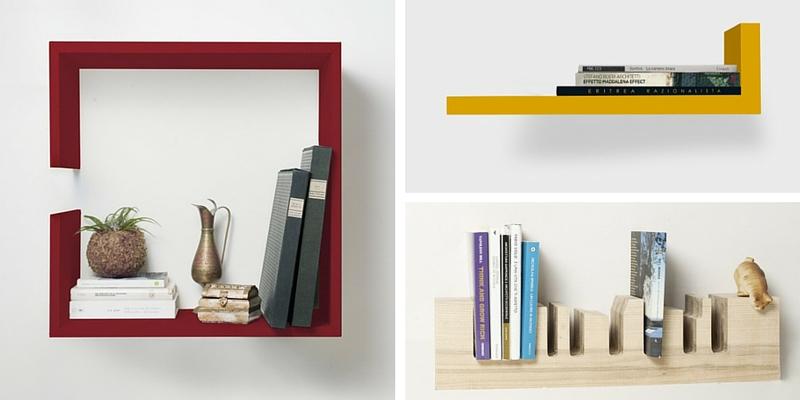 Come rendere originale la propria libreria di casa con mensole di design - Librerie di design per casa ...