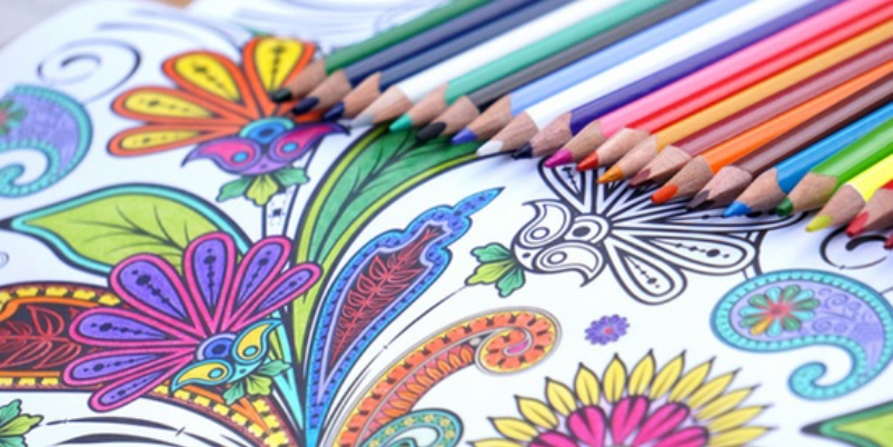 Art Therapy, i libri da colorare per gli adulti