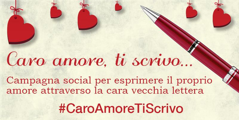 """""""Caro Amore, ti scrivo"""", parte la campagna social per esprimere il proprio amore attraverso la cara vecchia lettera"""