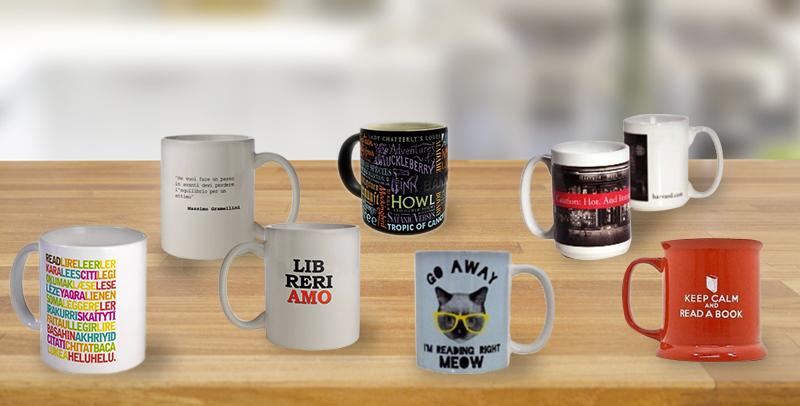 Tazze letterarie, ecco le mug che ogni amante dei libri vorrebbe sulla propria scrivania