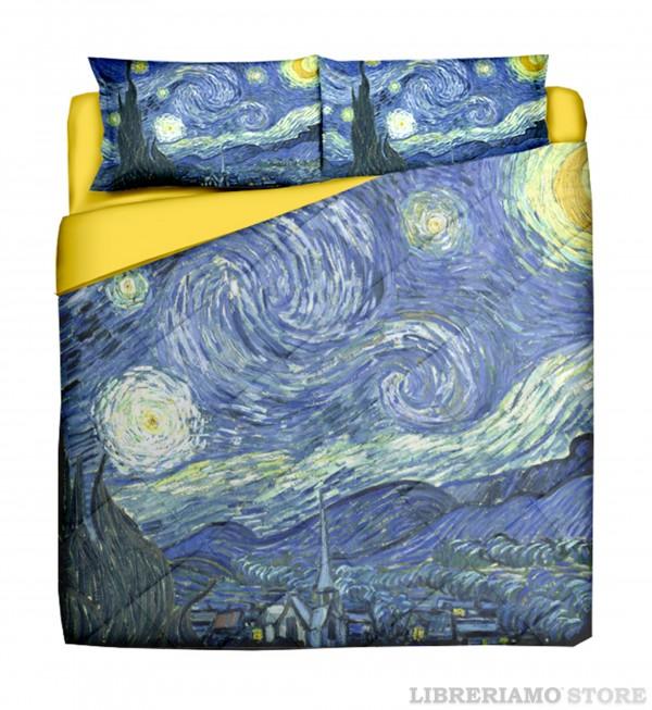 Arredare con arte ecco le lenzuola ispirate a van gogh e klimt - La camera da letto van gogh ...