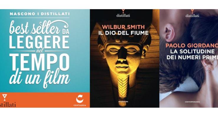 Nascono i Distillati, i bestseller concentrati in meno della metà delle pagine