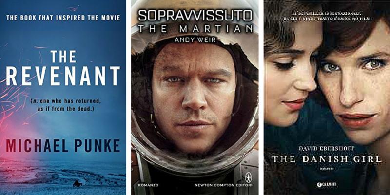 Notte degli Oscar 2016, i film tratti da libri in lizza per la statuetta