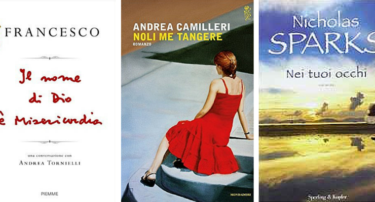 """""""Nole me tangere"""" di Camilleri sale al 2° posto dei libri più venduti della settimana"""