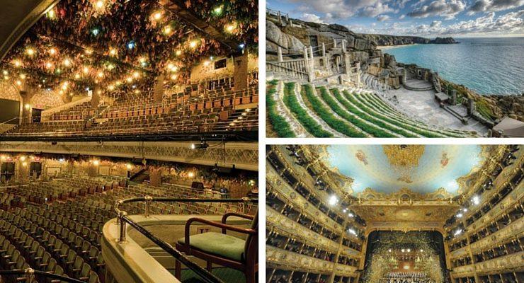 I 10 teatri più spettacolari del mondo