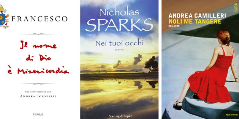 """""""Noli me tangere"""" di Camilleri al 3° posto dei libri più venduti della settimana"""