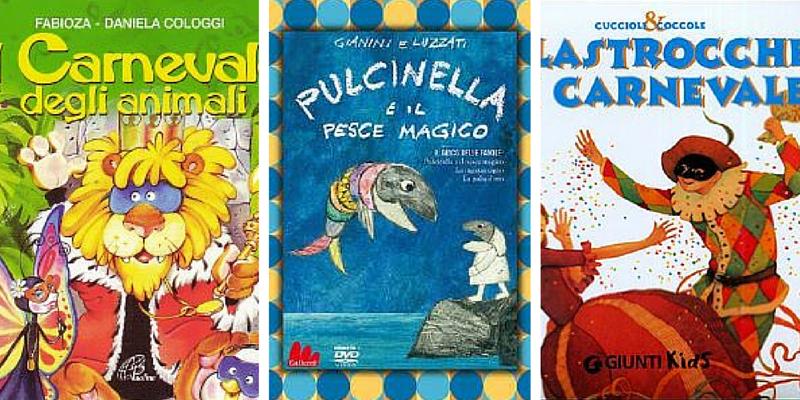 Carnevale, 10 libri da leggere per i ragazzi