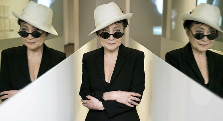 """Yoko Ono e la """"Lumière de l'aube"""", la prima retrospettiva francese"""