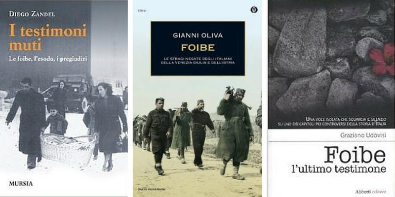 Foibe, 5 libri per non dimenticare
