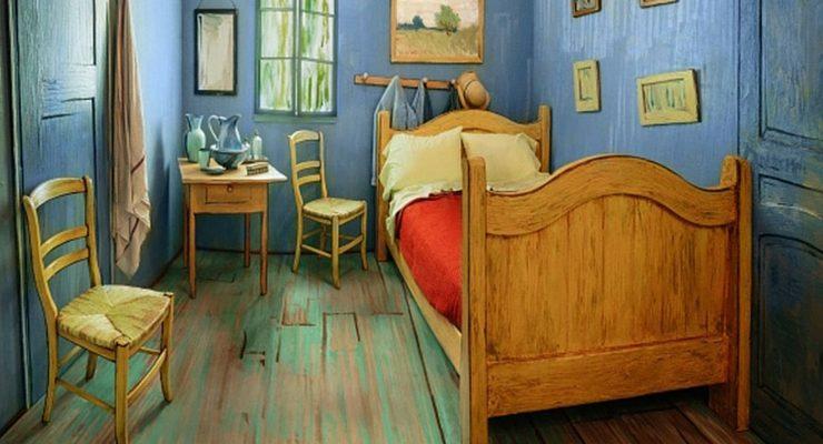 La stanza di Van Gogh ora è in affitto su Airbnb