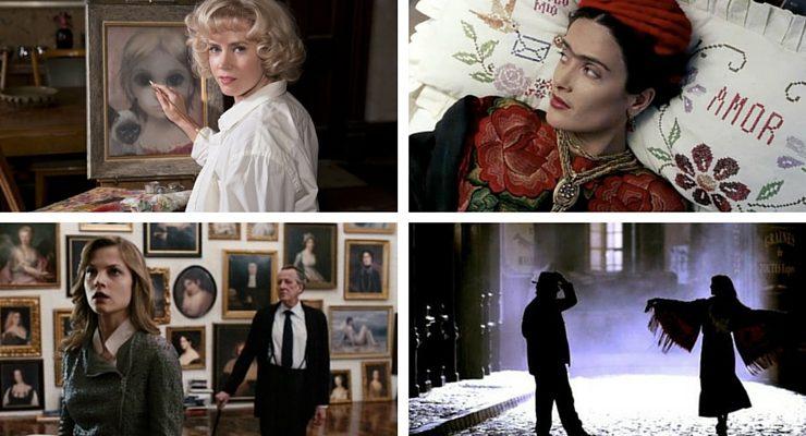 Tra amore e arte, i grandi film ispirati agli artisti.