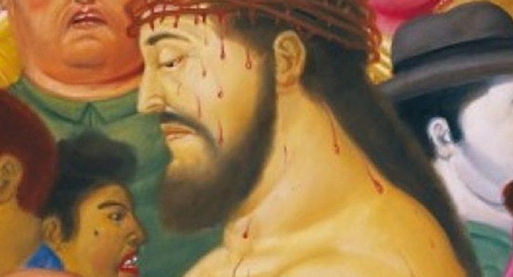 """La """"Passione di Cristo"""" di Botero a Roma"""