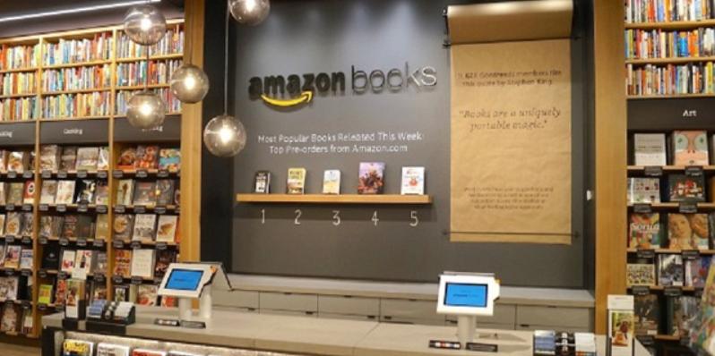 Amazon, in programma l'apertura di 400 librerie fisiche