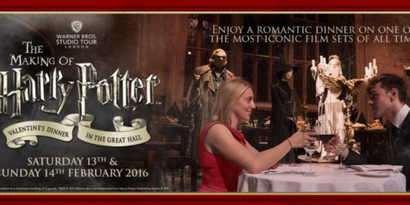 San Valentino, una cena speciale per gli amanti di Harry Potter