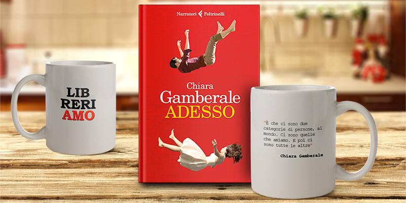 """Acquista l'AforisMug di Chiara Gamberale, in omaggio ai primi 10 il suo nuovo libro """"Adesso"""""""