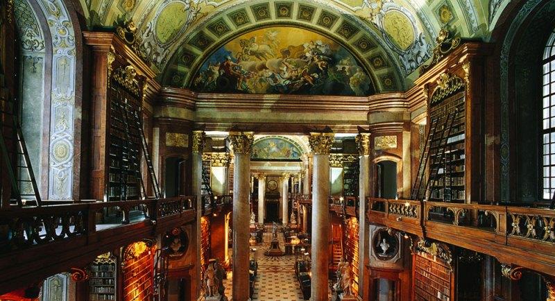 Alla scoperta della Biblioteca Nazionale Austriaca