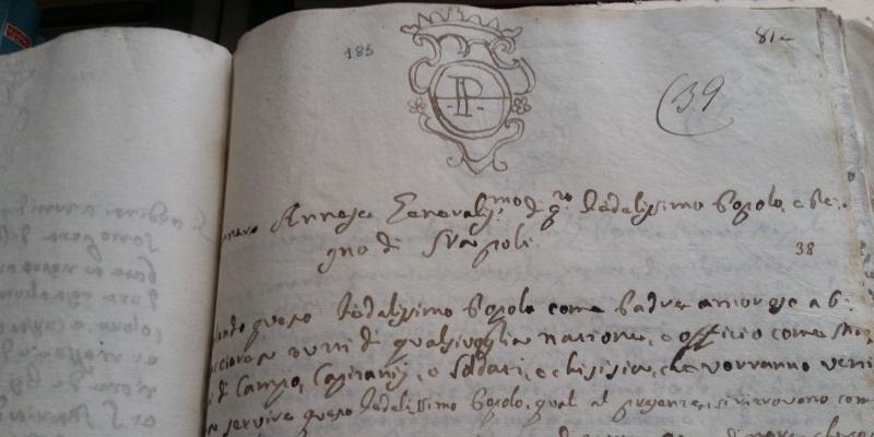 Biblioteca teologica, il diario di Masaniello tra i 140mila volumi conservati