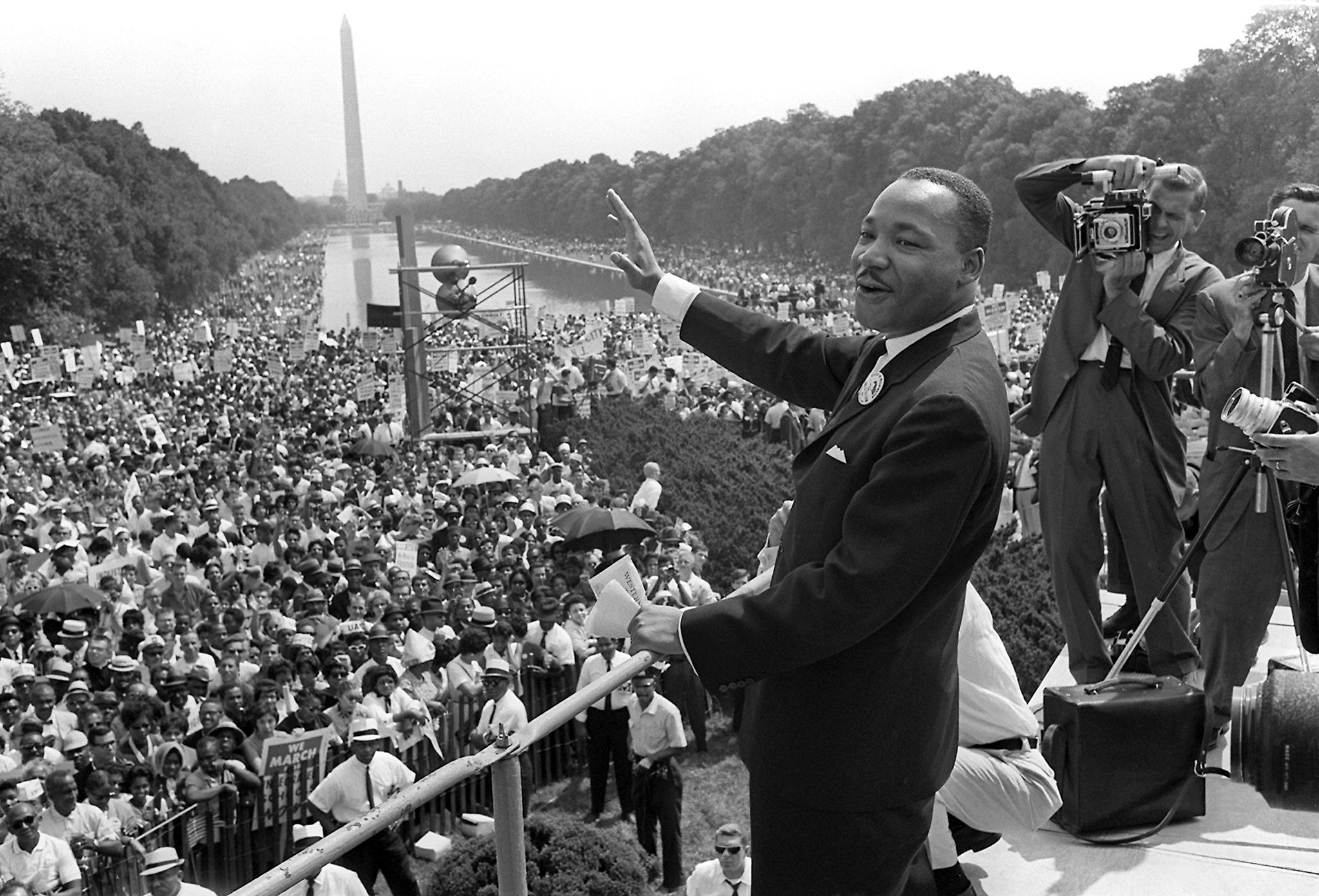 'I HAVE A DREAM' DISSE MARTIN LUTHER KING