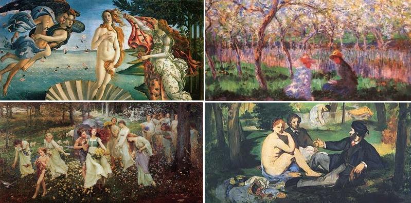 Quale opera d'arte sulla primavera ti rappresenta? Scoprilo con questo test