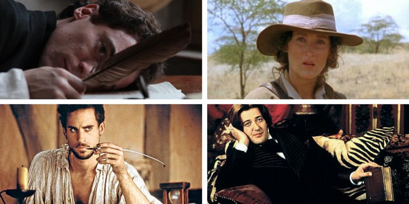 I 10 film ispirati alle vite degli scrittori più celebri
