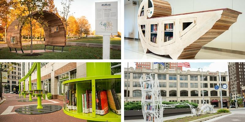 Indianapolis, le biblioteche diventano opere d'arte
