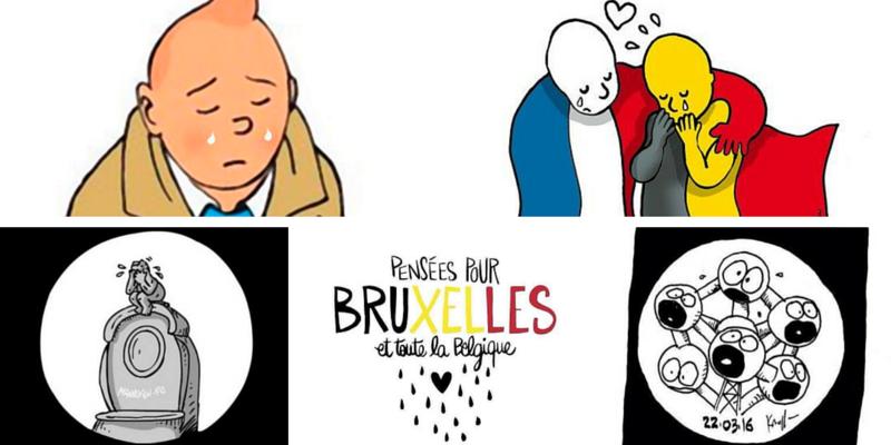 Bruxelles, le reazioni sui quotidiani online e sui social network