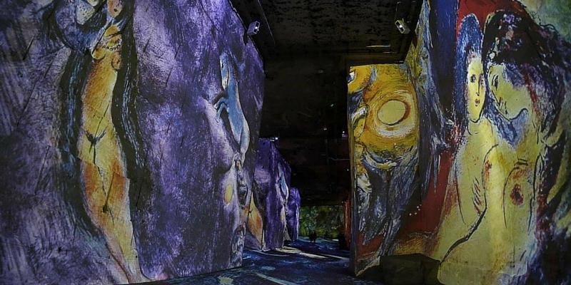 """""""Chagall, sogni di una notte d'estate"""", l'incredibile esposizione a Baux"""