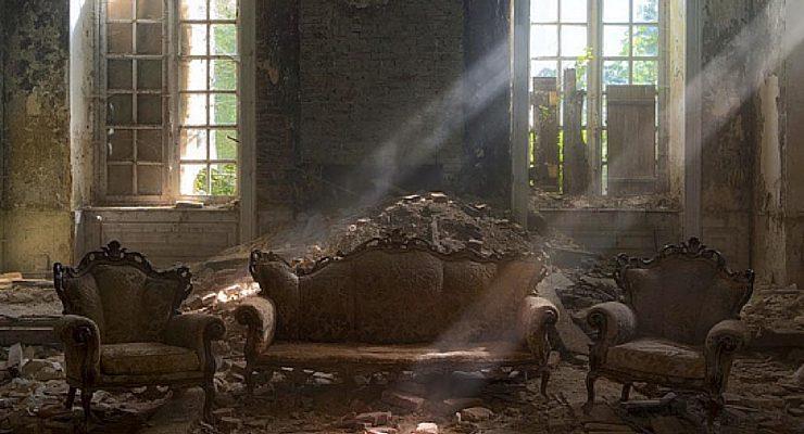 #Itsabandoned, i luoghi abbandonati diventano foto artistiche su Instagram