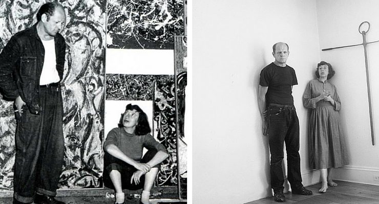 Pollock-Krasner, un amore di musa