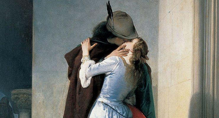 Il 'Bacio' di Hayez