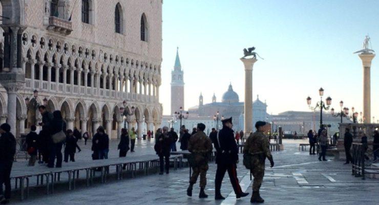 Venezia, allarme bomba a Palazzo Ducale