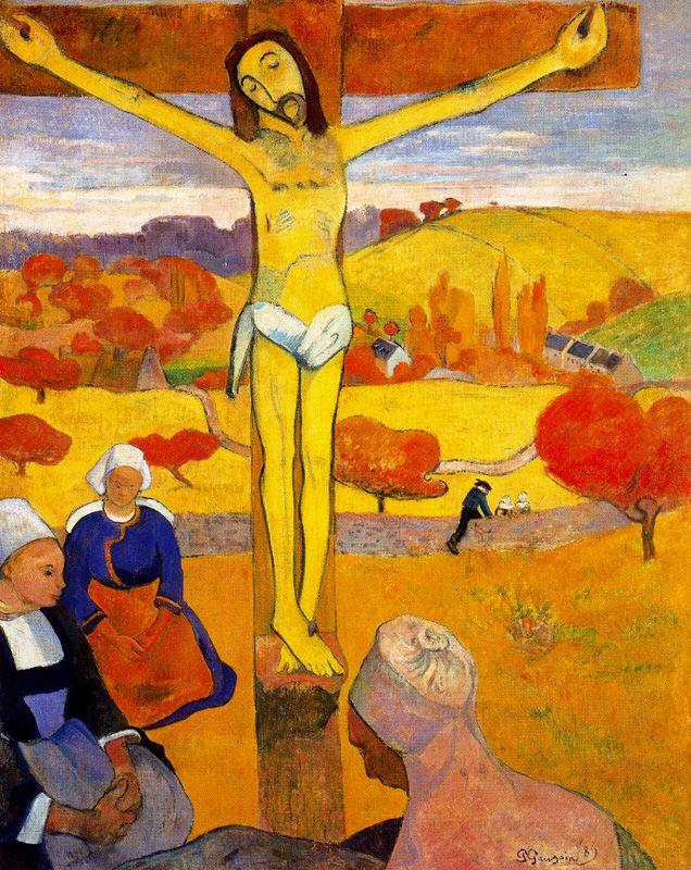 Cristo Giallo di Paul Gauguin