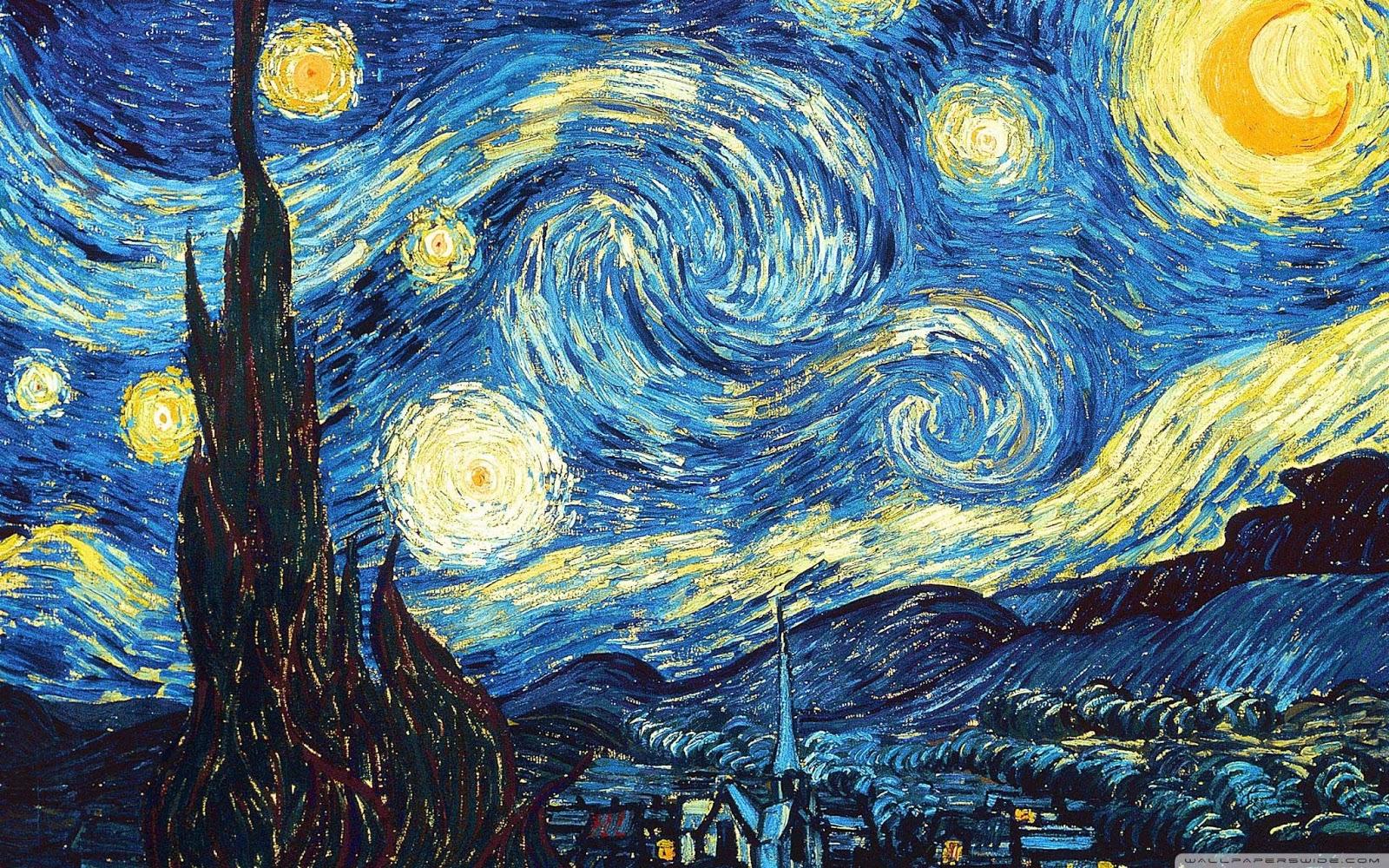 """Van Gogh """"Notte stellata"""""""