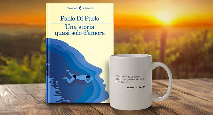 """Acquista l'AforisMug di Paolo Di Paolo, in omaggio ai primi 10 il suo libro """"Una storia quasi solo d'amore"""""""