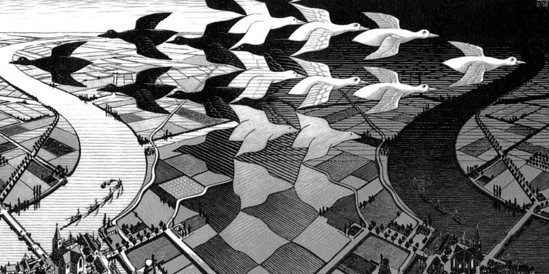Maurits Cornelis Escher, la sfida dei limiti