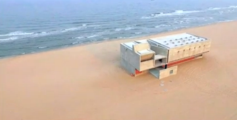 Seashore Library, la biblioteca cinese in riva al mare