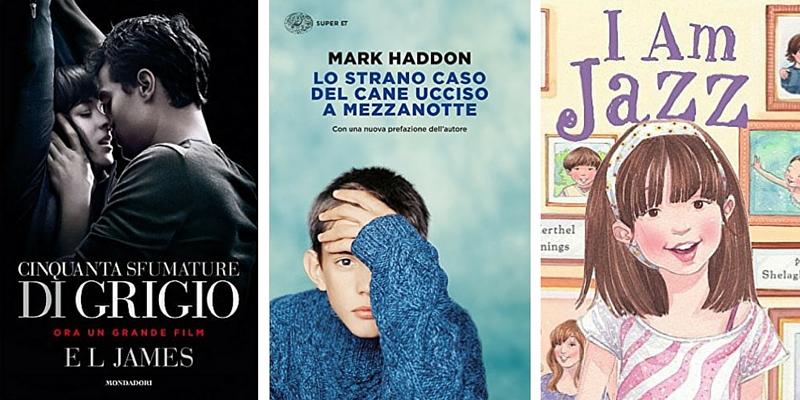 10 libri che i genitori americani hanno cercato di censurare nello scorso anno