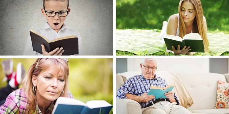 Qual è la tua età di lettore? Scoprilo con questo test