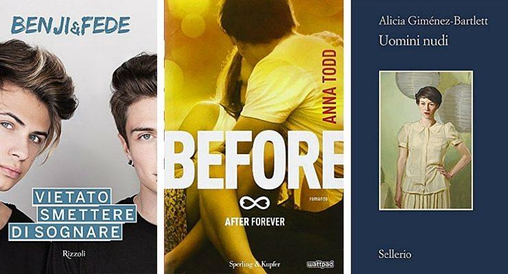 """""""Before"""" di Anna Todd al 2° posto dei libri più venduti della settimana"""