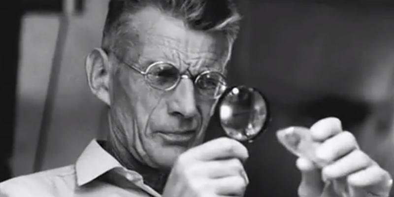 Samuel Beckett, il padre di 'Aspettando Godot'