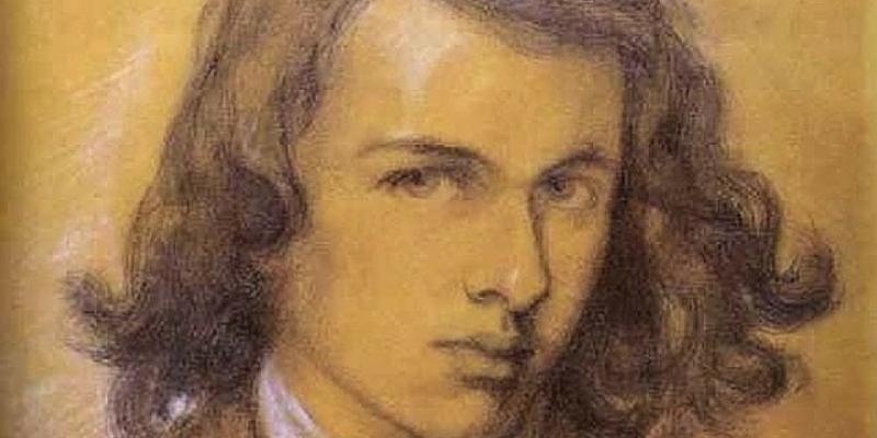 Autoritratto di Dante Gabriel Rossetti
