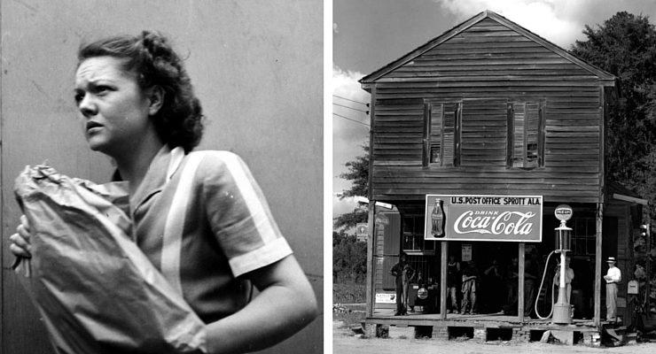 Due foto di Walker Evans