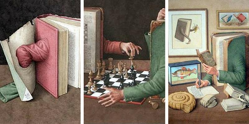 Le illustrazioni di Jonathan Wolstenholme