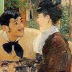 """Manet, """"Chez le Père Lathuille"""""""
